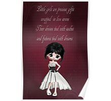 Little Girls Are Precious Gifts Poster Poster