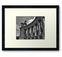 Heroes' Square, Budapest Framed Print