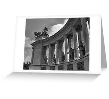 Heroes' Square, Budapest Greeting Card