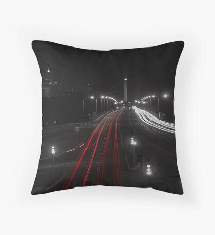 The Causeway - Perth Western Australia Throw Pillow