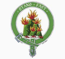Clan Grant Scottish Crest Baby Tee
