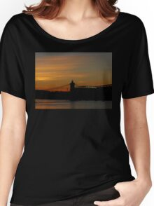 Sunset On The Ohio Women's Relaxed Fit T-Shirt