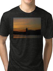 Sunset On The Ohio Tri-blend T-Shirt