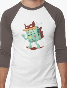 What Does The Fox Say?: Bmo Style! Men's Baseball ¾ T-Shirt