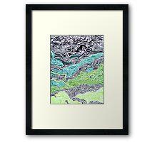 Alkaline Valley  Framed Print