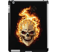 Fire Skull Ghost Rider iPad Case/Skin