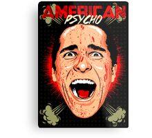 American Psycho Untouched Metal Print