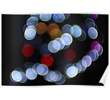 Bokeh Lights Helios 44 - 2 Russian Lens on 7D Poster