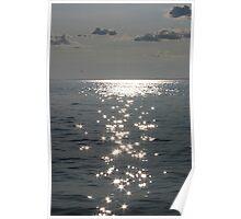 Sunset Diamonds Poster