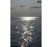 Sunset Diamonds Photographic Print