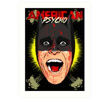 American Psycho Gotham Edition Art Print