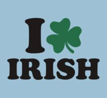 I love Irish shamrock Kids Tee