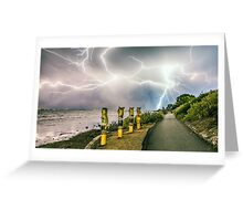 Cracking Sky Greeting Card