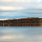 Perquimans River Bridge by WeeZie
