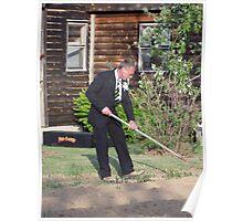 Classy Gardener Poster