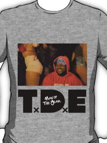 ScHoolboy Q of T.D.E - Man Of THe Year T-Shirt