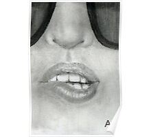 Glass Lips  Poster