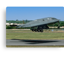 Northrop Grumman B-2A Spirit 82-1069/WM Canvas Print