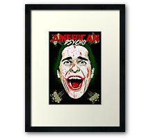 American Psycho The Killing Joke Edition Framed Print