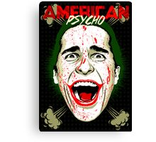American Psycho The Killing Joke Edition Canvas Print