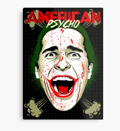 American Psycho The Killing Joke Edition Metal Print