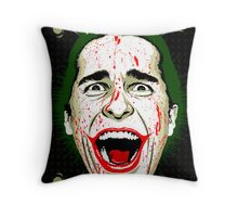 American Psycho The Killing Joke Edition Throw Pillow