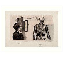 DIFERENTES TOPICOS PARA CONVERSAR CON LA MUERTE POR TELEFONO (DIFFERENT TOPICS TO DISCUSS WITH DEATH BY PHONE) Art Print