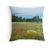 Lower Economy, Nova Scotia Throw Pillow