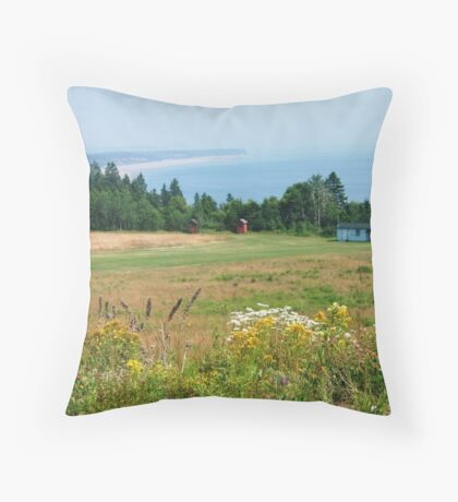Lower Economy, Nova Scotia Throw Pillow