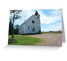 Economy Church Greeting Card