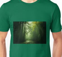Driving Through Fog Unisex T-Shirt