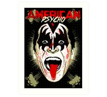 American Psycho Rock'n'Roll All Night Edition Art Print