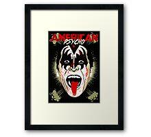 American Psycho Rock'n'Roll All Night Edition Framed Print