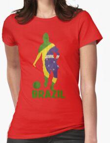 Brazil Womens Fitted T-Shirt