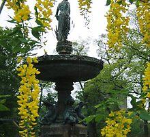 Spring Fountain, Halifax Public Gardens  by Naomi Slater