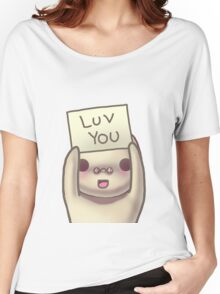 Luv You Women's Relaxed Fit T-Shirt