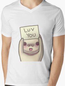 Luv You Mens V-Neck T-Shirt