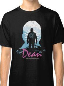 I Hunt, Therefore I Am (Dean - Supernatural & Drive) Classic T-Shirt