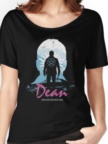 I Hunt, Therefore I Am (Dean - Supernatural & Drive) Women's Relaxed Fit T-Shirt