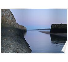 Entrance to St Andrews Harbour Poster