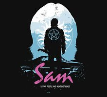 The Song Remains The Same (Sam - Supernatural & Drive) Unisex T-Shirt