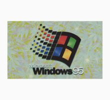 Windows 95 Weed Logo by brokespice