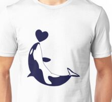 Love Orcas Unisex T-Shirt