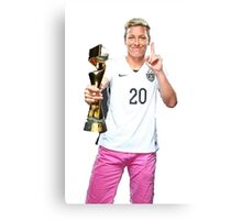 Abby and the Trophy at Last  Canvas Print