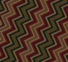 Knitted pattern by Richard Laschon