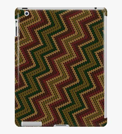 Knitted pattern iPad Case/Skin