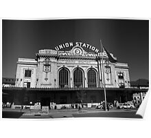 Denver - Union Station Poster