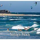 Bodysurfers - Nobbys Beach by reflector