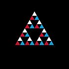 Triforce x Triforce x Triforce by Mr Brindle