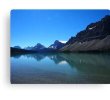 Bow Lake, The Head waters of the Bow River Canvas Print